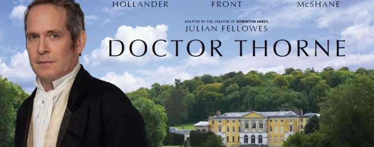 "From the Creator of ""Downton Abbey"",  ""Doctor Thorne"" / Available On Digital HD October 17th and DVD October 18th 27"