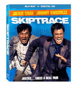 Skiptrace Starring Jackie Chan and Johnny Knoxville Arrives On Blu-ray, DVD, & Digital HD 10/25 1