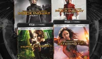 The Hunger Games 4K Ultra HD Combo Pack Arrives on November 8th! 4