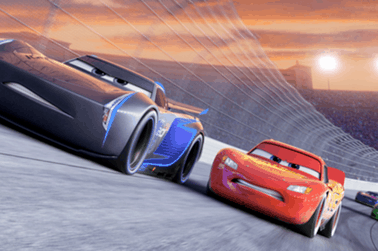 CARS 3 got an extended look during the College Football National Playoffs 19