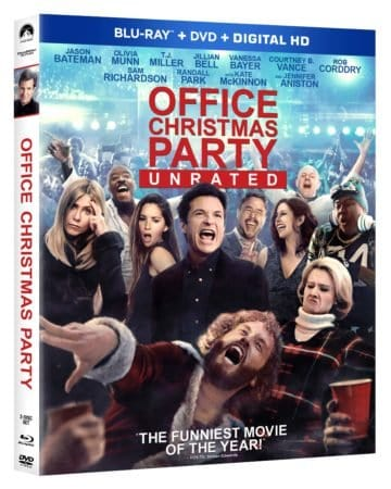 OFFICE CHRISTMAS PARTY- unrated cut arrives on Blu-ray Combo Pack April 4th, Digital HD on March 21st 1