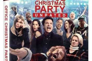 OFFICE CHRISTMAS PARTY- unrated cut arrives on Blu-ray Combo Pack April 4th, Digital HD on March 21st 19