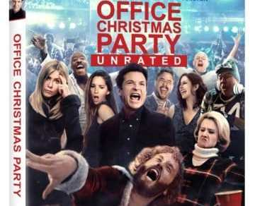 OFFICE CHRISTMAS PARTY- unrated cut arrives on Blu-ray Combo Pack April 4th, Digital HD on March 21st 9
