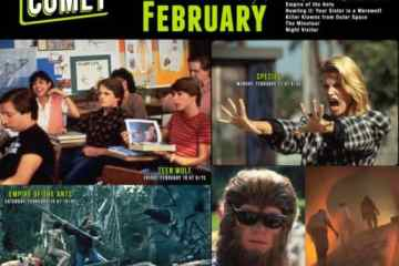 Airing on COMET TV: The Beasts of February! Teen Wolf! Species! Strange Invaders! 11