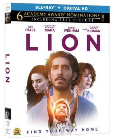 LION arrives on Blu-ray, DVD and On Demand March 21 and on Digital HD March 7 1
