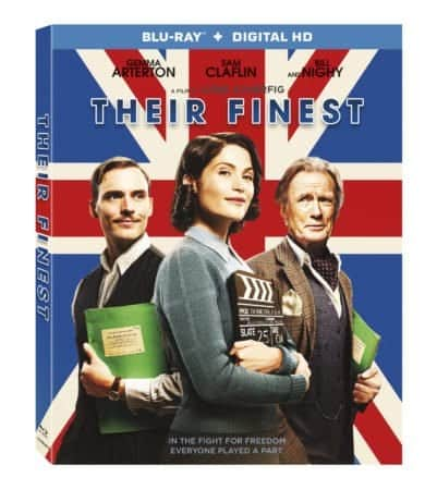 Their Finest arrives on Blu-ray™ (plus Digital HD) and DVD on July 11 1