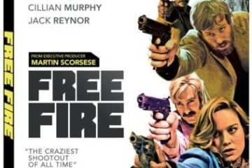 FREE FIRE – Starring Brie Larson and Armie Hammer – Arrives on Blu-ray and DVD July 18 18