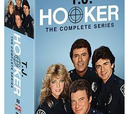 T.J. HOOKER: THE COMPLETE SERIES comes to DVD on July 18th 5