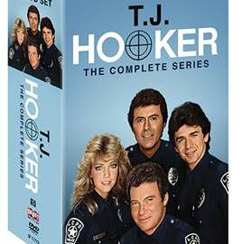 T.J. HOOKER: THE COMPLETE SERIES comes to DVD on July 18th 19