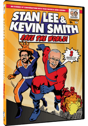 STAN LEE & KEVIN SMITH SAVE THE WORLD! 1