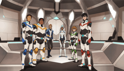 WEEKEND ROUNDUP: VOLTRON LEGENDARY DEFENDER, BRAD PAISLEY'S COMEDY RODEO, INGRID GOES WEST, NAKED, STEPHEN KING 6