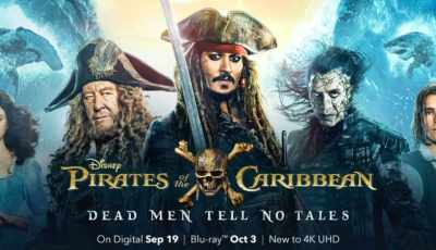 """ENTER TO WIN A DIGITAL COPY OF """"PIRATES OF THE CARIBBEAN: DEAD MEN TELL NO TALES"""" 2"""