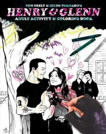 HENRY & GLENN: ADULT ACTIVITY and COLORING BOOK 1