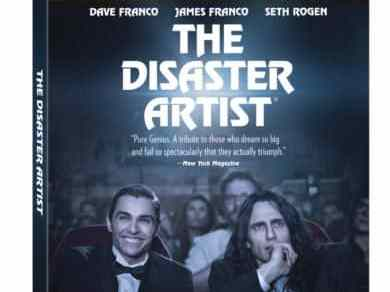 THE DISASTER ARTIST emotes all over Blu-ray on March 13th 1