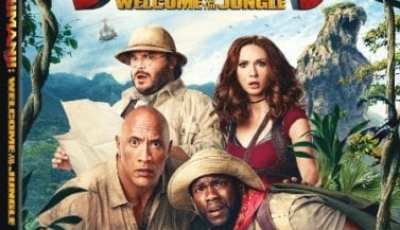 JUMANJI: WELCOME TO THE JUNGLE Available on Digital 3/6, Blu-ray and DVD 3/20 12