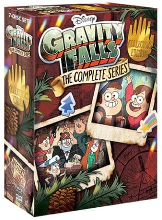"""Gravity Falls: The Complete Series"" Acclaimed Show Available for the First Time as a Complete Series Box Set July 24th, 2018 from Shout! Factory 3"
