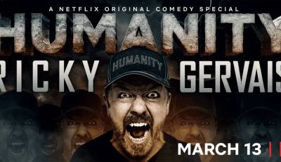 Ricky Gervais tackles tough topics in new Netflix clip 8