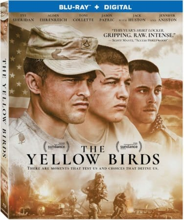 The Yellow Birds arrives on Blu-ray™ (plus Digital), DVD, and Digital August 14 3