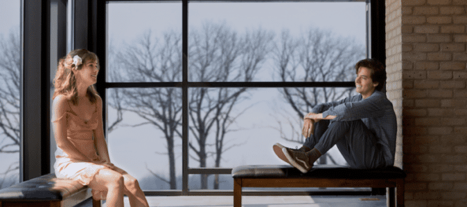 Five Feet Apart starring Haley Lu Richardson & Cole Sprouse offers up a first look! 15