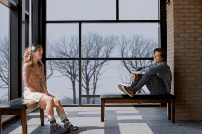 Five Feet Apart starring Haley Lu Richardson & Cole Sprouse offers up a first look! 3