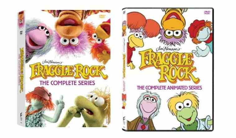 FRAGGLE ROCK: THE COMPLETE SERIES Debuts for the First Time on Blu-ray September 25 3