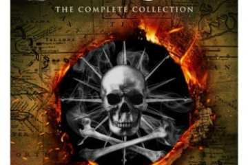 Black Sails: The Complete Collection arrives on Blu-ray™ (plus Digital) and DVD 10/16 20