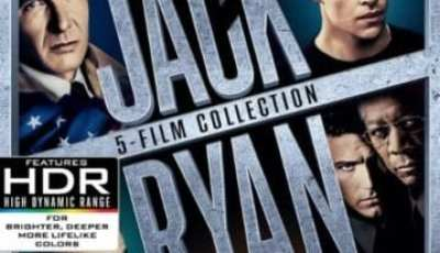 JACK RYAN: 5-FILM COLLECTION (4K UHD) 1