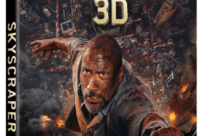 Dwayne 'The Rock' Johnson Stars in SKYSCRAPER Available on Digital 9/25 and 4K Ultra HD, 3D Blu-ray, Blu-ray & DVD 10/9 17
