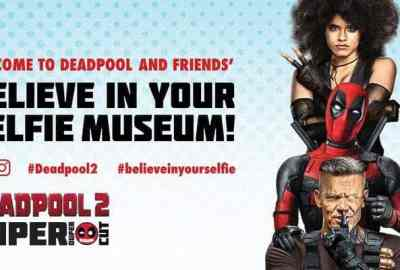 "Deadpool ""Believe in Your Selfie Museum"" Comes to NYC 7"