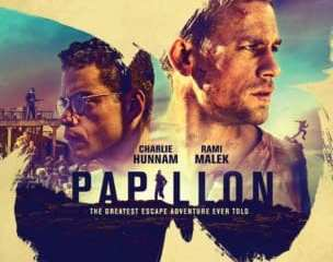 WEEKEND MOVIE ROUNDUP: PAPILLON, THE WIFE, DOWN A DARK HALL and NIGHT IS SHORT, WALK ON GIRL 15