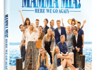 MAMMA MIA! HERE WE GO AGAIN Available on Digital 10/9 and 4K Ultra HD, Blu-ray & DVD 10/23 50