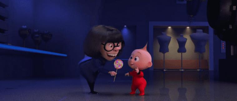 """""""Auntie Edna"""" from The Incredibles 2 3"""