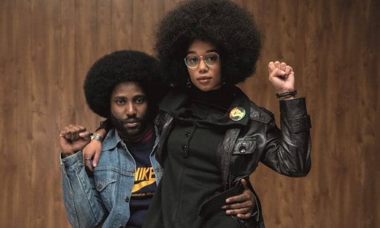 Enter to win a Blu-ray copy of BlackKklansman 1