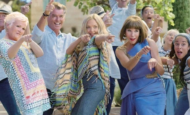 Enter to win a Blu-ray of Mamma Mia: Here We Go Again