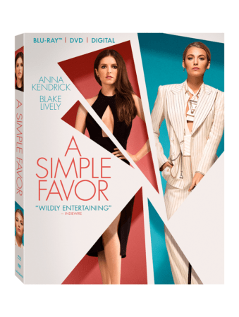 A Simple Favor arrives on Digital December 11 and on 4K Ultra HD, Blu-ray™, DVD, and On Demand 12/18 1