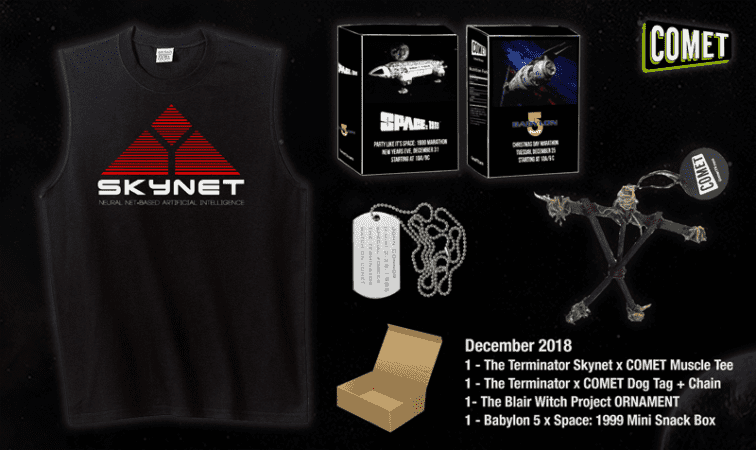 The Comet TV and CHARGE! December Prize Pack contest is here! 3