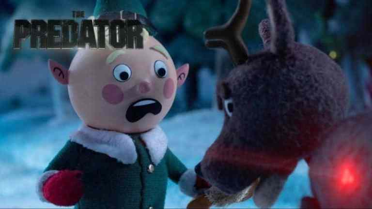 THE PREDATOR Stop-Motion Holiday Special Trailer airs tomorrow night! 1