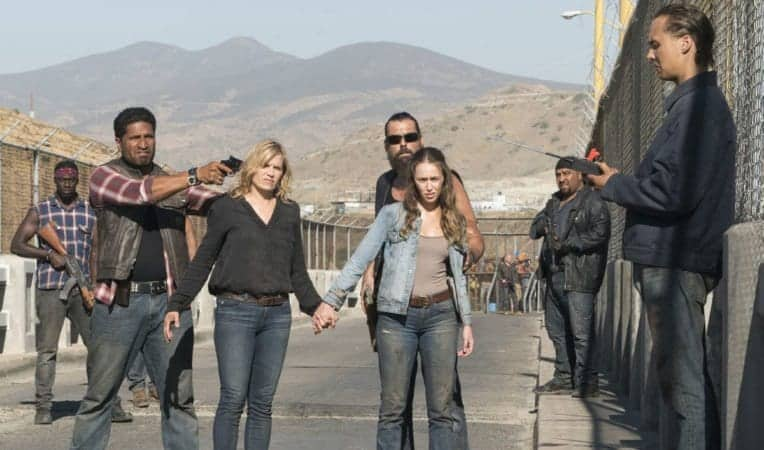 FEAR THE WALKING DEAD SSN 4 on Blu-ray and DVD 3/5 1