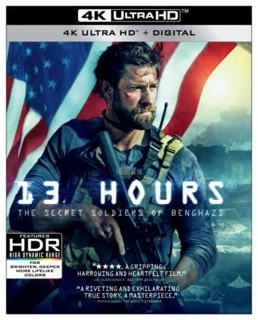 13 Hours: The Secret Soldiers of Benghazi arrives on 4K UHD June 11th 1