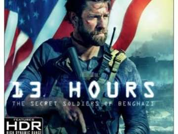 13 Hours: The Secret Soldiers of Benghazi arrives on 4K UHD June 11th 80