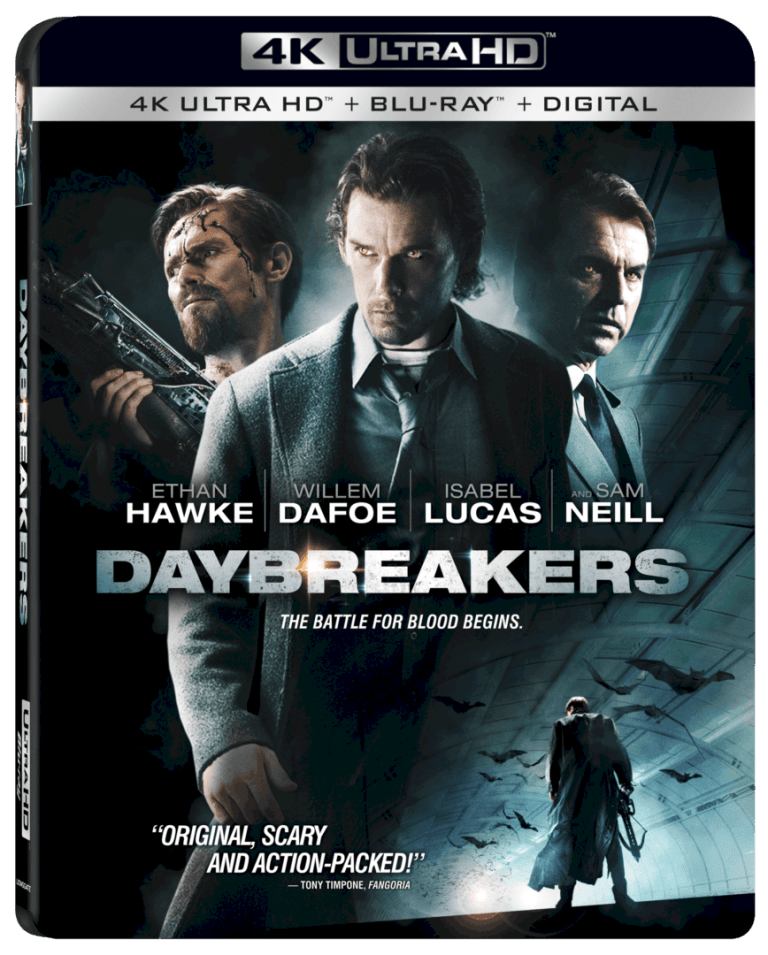 Daybreakers 4K arrives on 4K Ultra HD™ Combo Pack (plus Blu-ray™ and Digital) and Digital 9/10 1