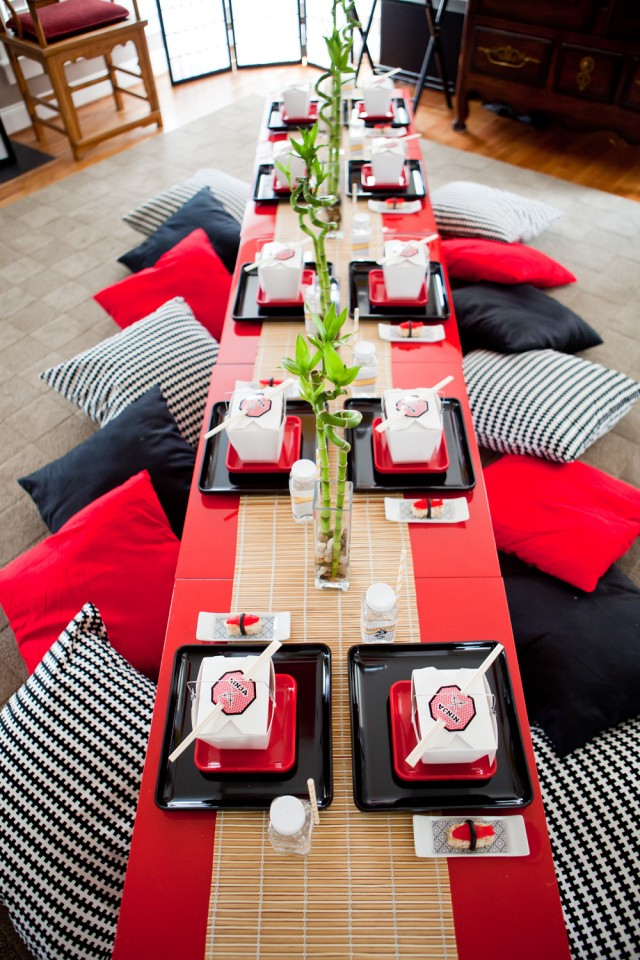 Sushi Party Decorations