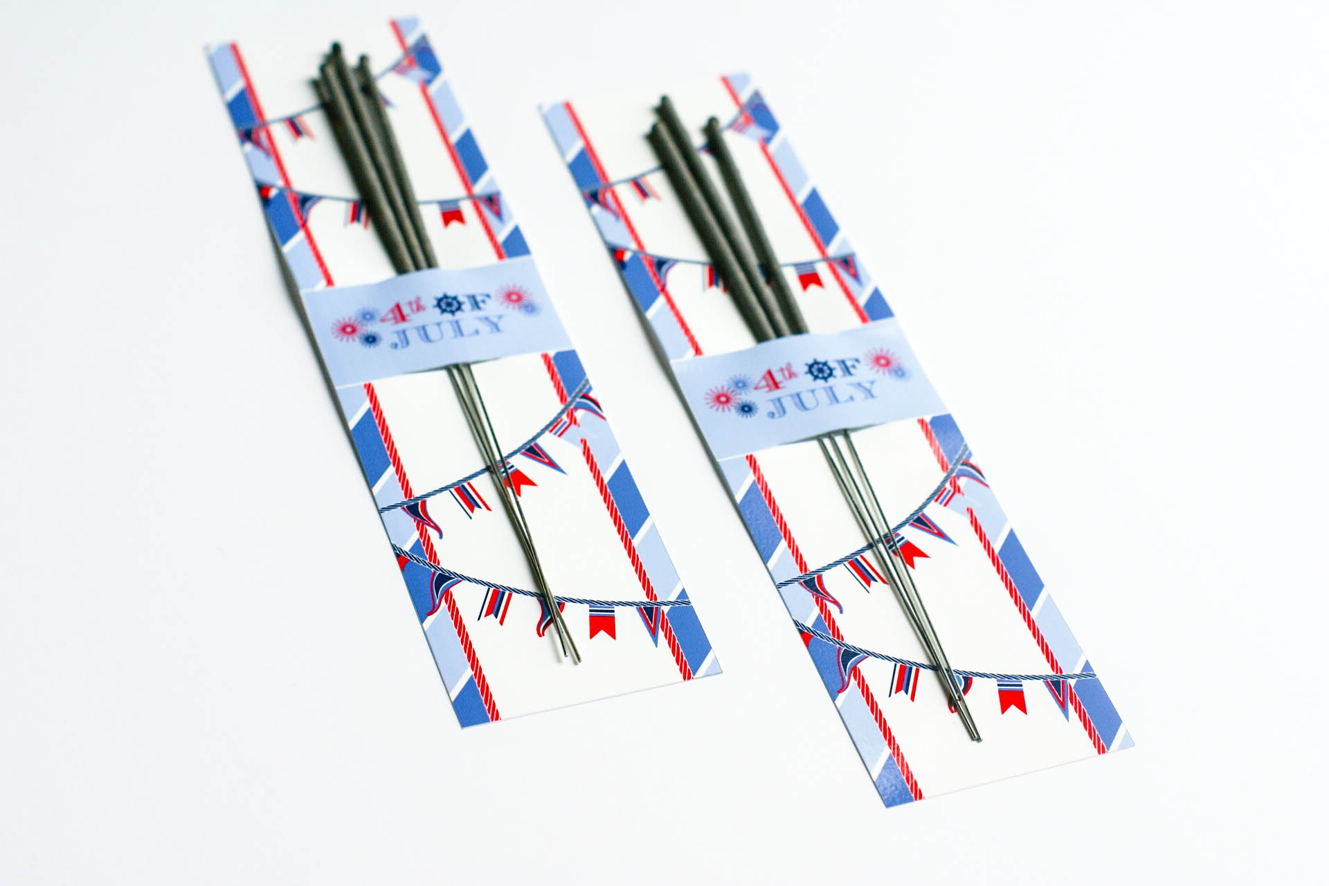 Ruff Draft Free Printable Sparkler Holder For The 4th Of July