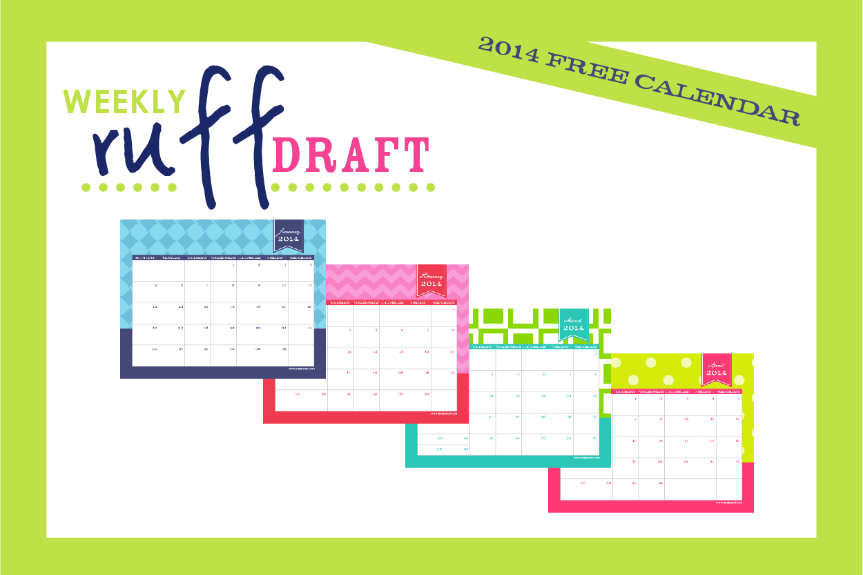 Free Printable Calendar By Anders Ruff Custom Designs