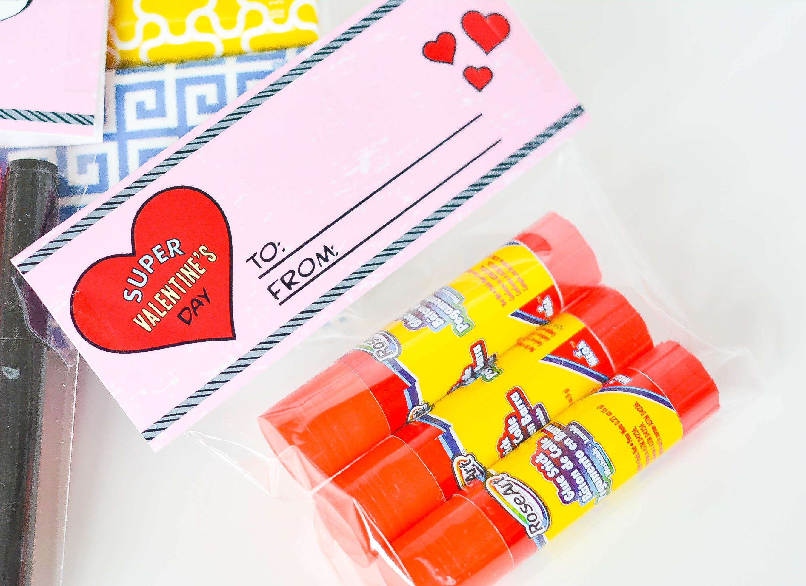 Ruff Draft Free Printable Super Hero Valentine For Teachers