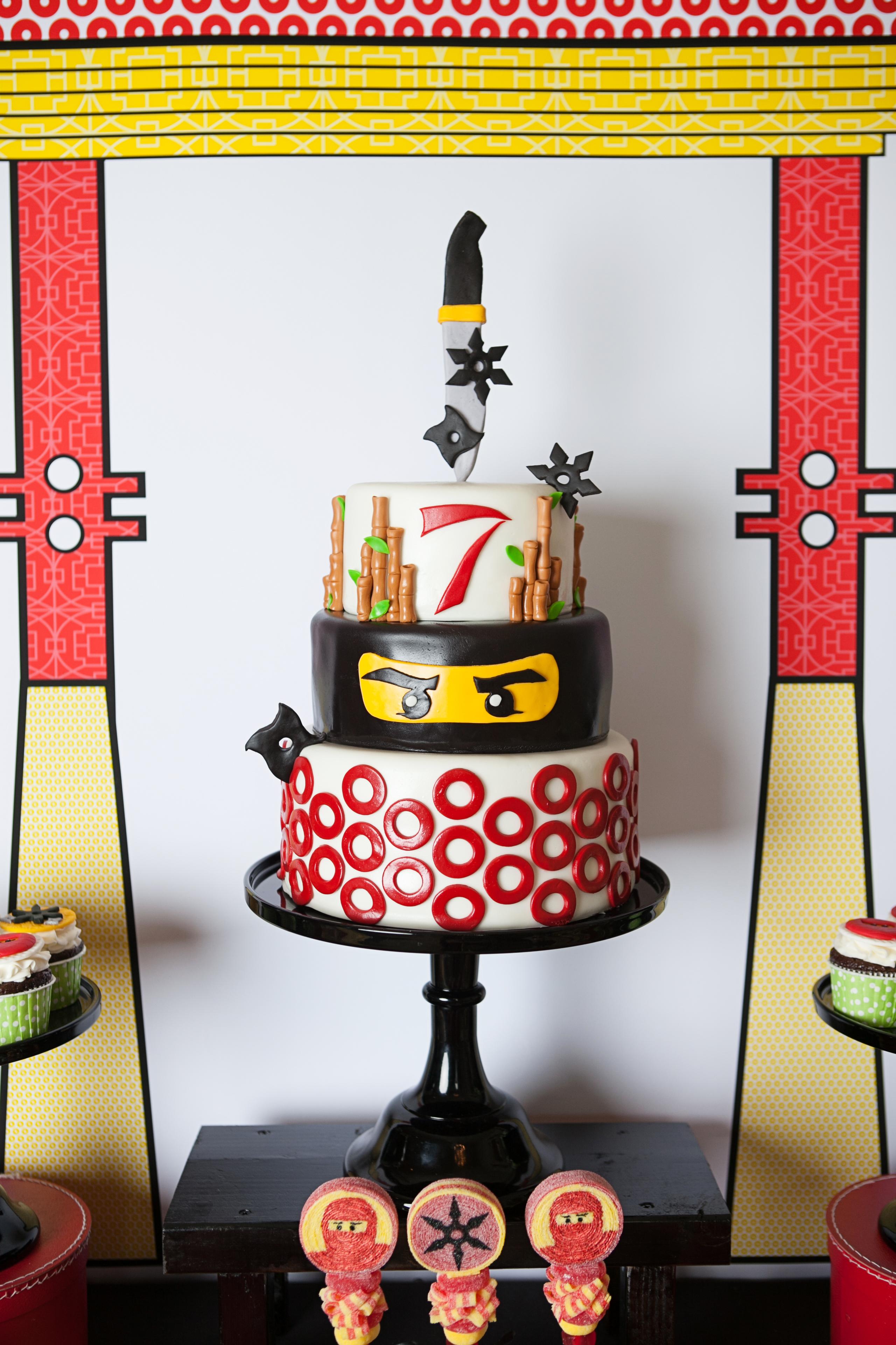 A Lego Ninjago Inspired Birthday Party