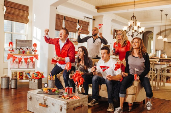 Revealing Our Spirited Home Bowl Football Party for Evite ...