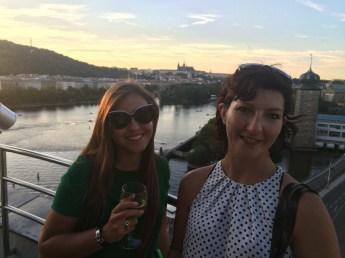 Prague, upstairs Ginger&Fred