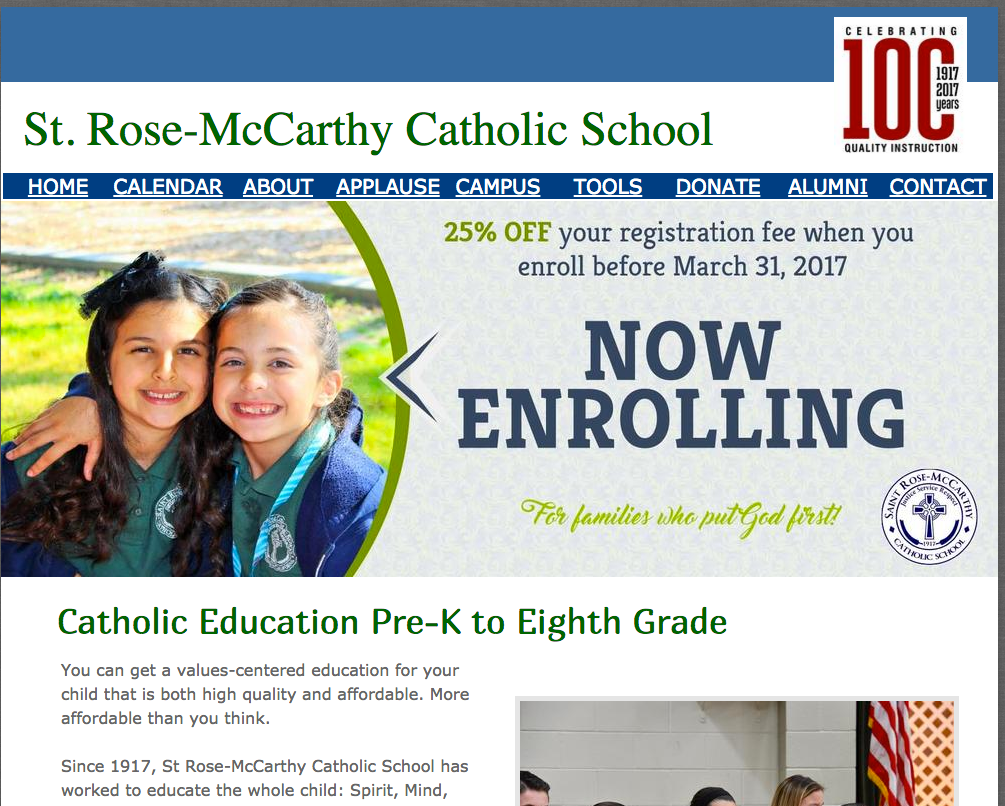 St. Rose-McCarthy Catholic School