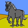 Beautiful Pony Coloring